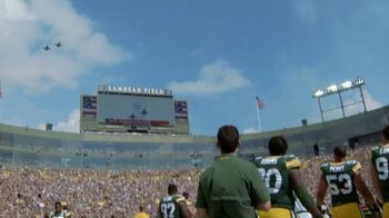 USAA TV Spot, 'NFL Salute to Service: Military Flyover' - Thumbnail 6