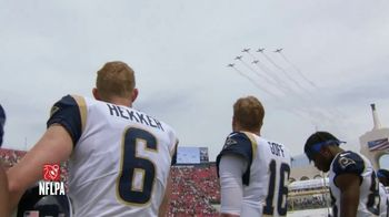USAA TV Spot, 'NFL Salute to Service: Military Flyover' - 5 commercial airings
