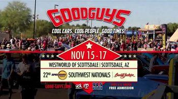 Goodguys Rod & Custom Association TV Spot, '22nd Speedway Motors Southwest Nationals' - Thumbnail 9