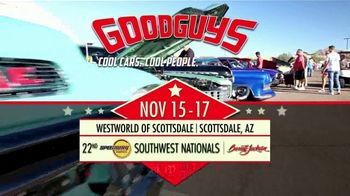 Goodguys Rod & Custom Association TV Spot, '22nd Speedway Motors Southwest Nationals' - Thumbnail 5
