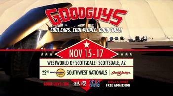 Goodguys Rod & Custom Association TV Spot, '22nd Speedway Motors Southwest Nationals' - Thumbnail 6