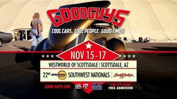 Goodguys Rod & Custom Association TV Spot, '22nd Speedway Motors Southwest Nationals' - Thumbnail 7