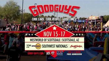Goodguys Rod & Custom Association TV Spot, '22nd Speedway Motors Southwest Nationals' - Thumbnail 8