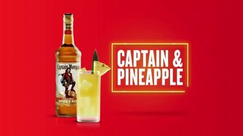 Captain Morgan TV Spot, 'Captain & Pineapple Juice' - Thumbnail 7