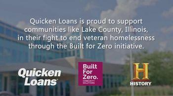 Quicken Loans TV Spot, 'History Channel: Veteran Homelessness in Lake County' - Thumbnail 2