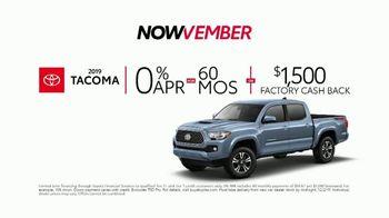 Toyota Nowvember Sales Event TV Spot, 'Now Now Now' [T2] - Thumbnail 5