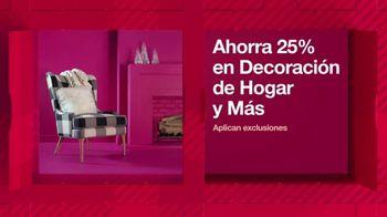 Target HoliDeals TV Spot, '25% de descuento en decoración de hogar y más' canción de Danna Paola [Spanish]
