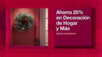 Target HoliDeals TV Spot, '25% de descuento en decoración de hogar y más' canción de Danna Paola [Spanish] - Thumbnail 5