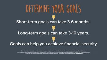 PNC Bank TV Spot, 'Tip: Determine Your Goals'