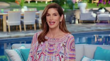 Rooms to Go Patio TV Spot, 'Selection and Style You Want' Featuring Cindy Crawford