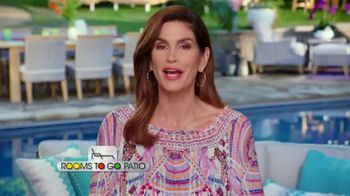 Rooms to Go Patio TV Spot, 'Selection and Style You Want' Featuring Cindy Crawford - Thumbnail 3