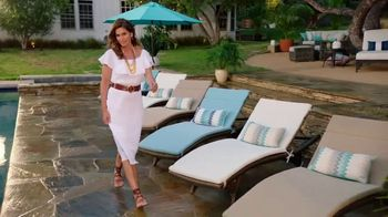 Rooms to Go Patio TV Spot, 'Selection and Style You Want' Featuring Cindy Crawford - Thumbnail 7