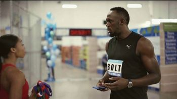 Sam's Club Scan & Go TV Spot, 'Scan & Go Speed Test With Usain Bolt' Ft. Usain Bolt, Allyson Felix - Thumbnail 8