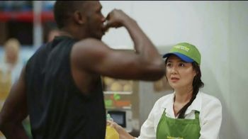 Sam's Club Scan & Go TV Spot, 'Scan & Go Speed Test With Usain Bolt' Ft. Usain Bolt, Allyson Felix - Thumbnail 6