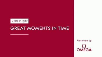 OMEGA TV Spot, 'Ryder Cup Great Moments in Time: Rory McIlroy' Featuring Tommy Fleetwood - Thumbnail 1