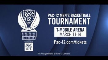 Pac-12 Conference TV Spot, '2020 Men's Basketball Tournament'