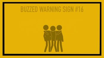 NHTSA TV Spot, 'Buzzed Warning Signs: Affection'