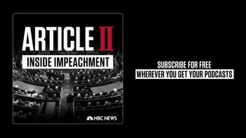 Article II: Inside Impeachment TV Spot, 'Start an Inquiry' - 253 commercial airings
