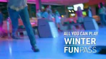 Main Event Entertainment Winter Fun Pass TV Spot, 'All You Can Play: $14.99'