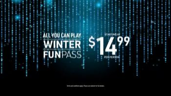 Main Event Entertainment Winter Fun Pass TV Spot, 'All You Can Play: $14.99' - Thumbnail 8