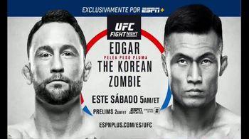 ESPN+ TV Spot, 'UFC Fight Night 165: Frankie Edgar vs. Chan Sung Jung' [Spanish] - 148 commercial airings