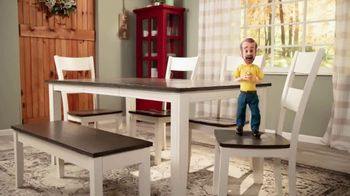 Bob's Discount Furniture TV Spot, 'Dining Height or Counter Height Dining Sets' - Thumbnail 2