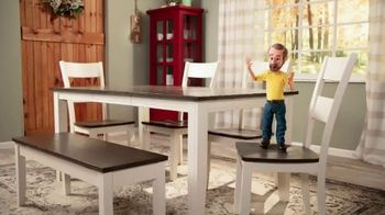Bob's Discount Furniture TV Spot, 'Dining Height or Counter Height Dining Sets' - Thumbnail 5