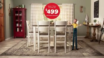 Bob's Discount Furniture TV Spot, 'Dining Height or Counter Height Dining Sets' - Thumbnail 7