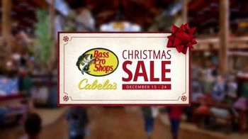 Bass Pro Shops Christmas Sale TV Spot, 'Wrinkle-Free Shirts and Under Armour Apparel'