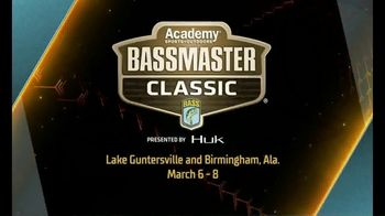 Bassmaster Classic TV Spot, '2020 Lake Guntersville and Birmingham'