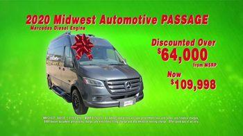 La Mesa Holiday RV Show TV Spot, '2020 Midwest Automotive Passage Diesel' - Thumbnail 5