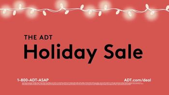 ADT Holiday Sale TV Spot, 'Limited Time Offer: Outdoor Camera & Video Doorbell'