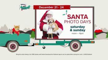 PetSmart Super Saturday Sale TV Spot, 'Santa Photo Days: Four Days Left to Save'