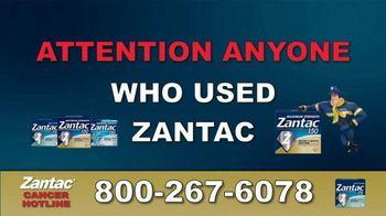 Greg Jones Law TV Spot, 'Zantac Warning'