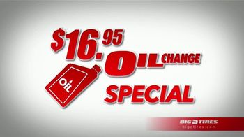 Big O Tires $16.95 Oil Change Special TV Spot, 'That's Big'