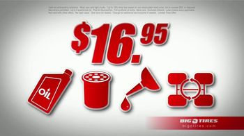 Big O Tires $16.95 Oil Change Special TV Spot, 'That's Big' - Thumbnail 3