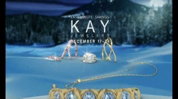 Kay Jewelers TV Spot, 'Holiday Countdown: Diamond Band Under $100'