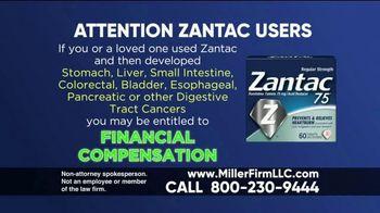 Miller Firm TV Spot, 'Zantac'