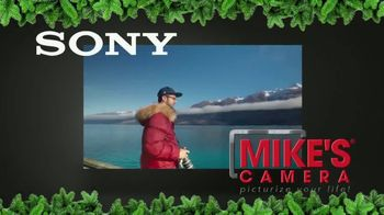 Mike's Camera TV Spot, 'Holidays: Sony A6000 & Sony A7II'