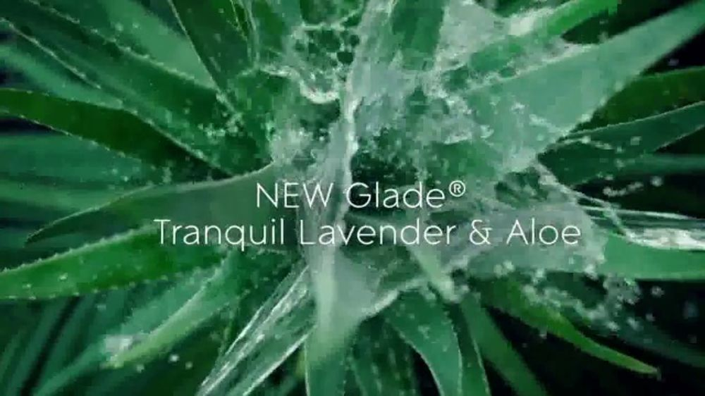Glade PlugIns Scented Oil TV Commercial, 'Tranquil Lavender & Aloe'