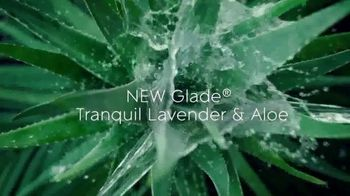 Glade PlugIns Scented Oil TV Spot, 'Tranquil Lavender & Aloe'