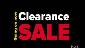 Belk Clearance Sale TV Spot, 'Fall Seasonal Apparel and Sheet Sets'