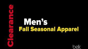 Belk Clearance Sale TV Spot, 'Fall Seasonal Apparel and Sheet Sets' - Thumbnail 6