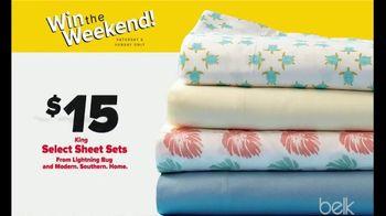 Belk Clearance Sale TV Spot, 'Fall Seasonal Apparel and Sheet Sets' - Thumbnail 8