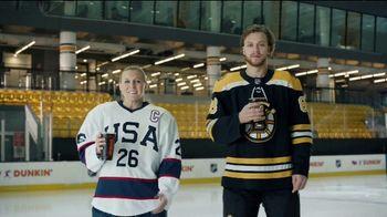 Dunkin' TV Spot, 'Talkin' Hockey With Pasta and Kendall: Sweater' Feat. David Pastrňák, Kendall Coyne Schofield