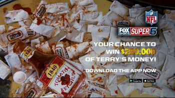 FOX Sports Super Six TV Spot, 'Ketchup' Featuring Terry Bradshaw - Thumbnail 8