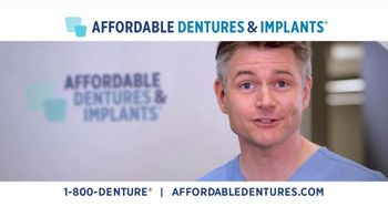 Affordable Dentures TV Spot, 'Get Your Smile Back: 10 Percent'