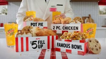 KFC $5 Fillups TV Spot, 'Original Recipe & Famous Bowl' - Thumbnail 9