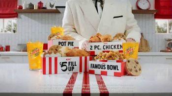 KFC $5 Fillups TV Spot, 'Original Recipe & Famous Bowl' - Thumbnail 7