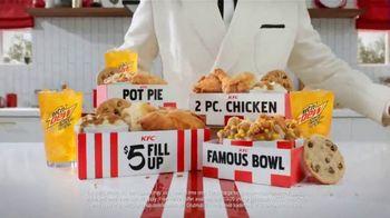 KFC $5 Fillups TV Spot, 'Original Recipe & Famous Bowl' - Thumbnail 8